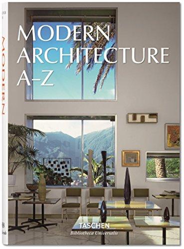 BU-L'architecture moderne de A à Z par Collectif