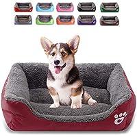 FRISTONE Cama cálida para Perro, Suave y Lavable, Resistente Cesta para Mascotas