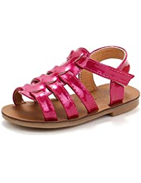 Huhua Sandals For Girls, Sandali Bambine Rosso rosso 38-38.5 EU, Blu (blu), 23 EU