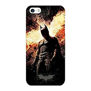 Jugaaduu Superheroes Batman Dark knight Back Cover Case For Apple iPhone 5S