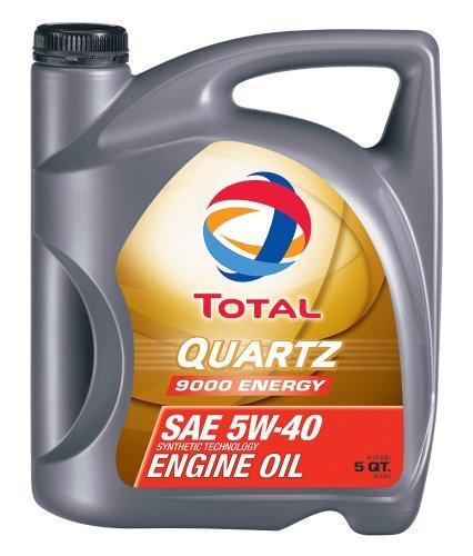 Preisvergleich Produktbild Total (184952-5QT) Quartz 9000 Energy ACEA/API 5W-40 Engine Oil - 5 Quart by Total