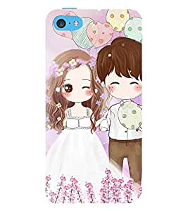 Vizagbeats Lovely Pair Back Case Cover for Apple iPhone 4::Apple iPhone 4S