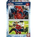 Puzzles Educa - Ultimate Spiderman, 2 puzzles x 48 piezas (15639)