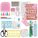24pcs DIY Quilling Paper Slotted Tools Set Decorazione Art Craft (colore casuale)