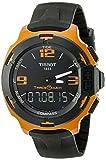 Tissot T-Race Touch Aluminium - Reloj (Reloj de Pulsera, Masculino, Aluminio, Negro, Naranja, Negro, Zafiro)