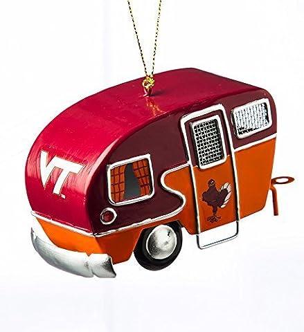 Team Sports America Metal Virginia Tech Hokies Camper Ornament by Team Sports America