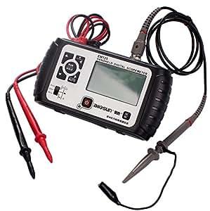 Zowaysoon Mini Oscilloscope 25Mhz EM125 2 en 1 Multimètre numérique portable Scopemeter