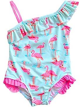 Changhants neonate costume da bagno in un unico pezzo con Pink Flamingos modello 1-14 bambini Y per bambini con...