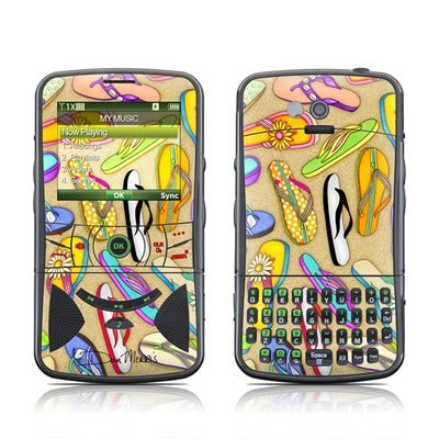 mygift-flip-flops-design-protector-skin-decal-sticker-for-verizon-pantech-razzle