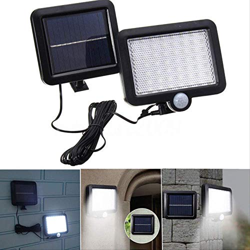 56 Guide Solar Power-Motion-Sensor Sensoren Sicherheit Flut Outdoor-Heimweg Lampe - Solar-power-outdoor-flut-licht