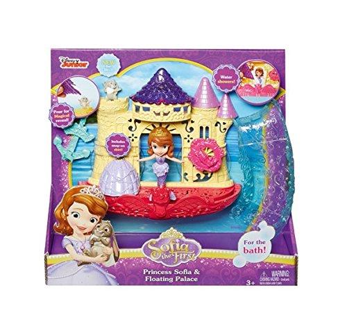 Mattel CKC90 Disney Princess - Modepuppen und Zubehör - Sofia die Erste Prinzessin und Wasserschloss