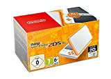 Nā Nintendo 2DS XL White + Orange