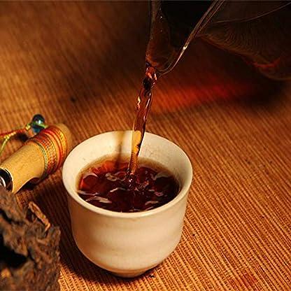 Reifer-Pu-Er-Ziegelstein-250g-ltester-Puer-Tee-Honig-Ser-Dul-roter-Puerh-Tee-Schwarzer-Tee-Puer-Tee-Chinesischer-Tee-Pu-er-Tee-Reifer-Tee-Pu-erh-Tee-Alte-Bume-Pu-erh-Tee-gekochter-Tee-Roter-Tee