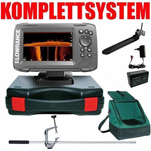 Lowrance Echolot Plotter Portabel Master Plus Hook2 5 TripleShot Chirp Combo GPS Lowrance Plotter