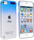 Generic Baby Blue Raindrop Crystal Hard Back Cover Case for Apple iPod Touch 5th Generation 5G 5