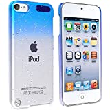 Baby Blue Raindrop Crystal Hard Back Cover Case for Apple iPod Touch 5th Generation 5G 5
