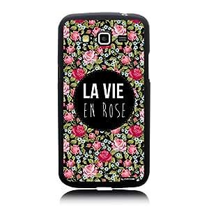Coque la vie en rose pour Samsung Galaxy Grand I9080