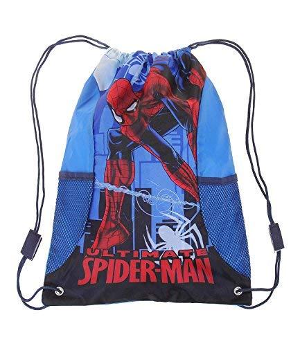 Spiderman Jungen Turnbeutel - blau -
