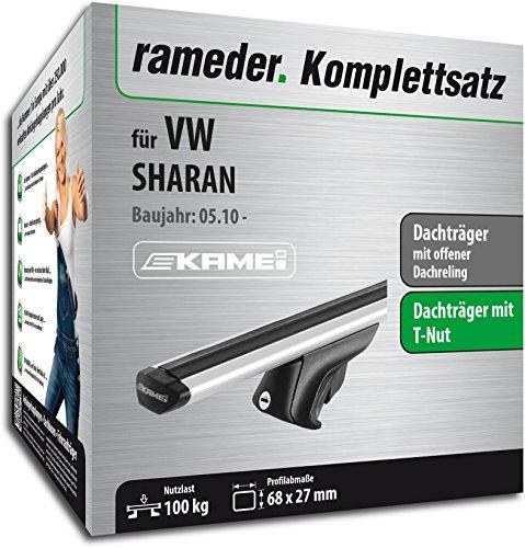 Rameder Komplettsatz, Dachträger Relingträger Kamei für VW SHARAN (135346-08630-18)