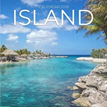 Island Calendar 2018: Island Photography, 8.5 x 8.5, 12 Months Mini Wall Calendar, (Office Gift Idea)