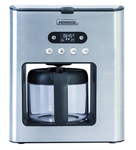 Kenwood Electronics CMM610 - Cafetera (Independiente, Acero inoxidable, Aluminio, Acero inoxidable, De café molido, Café, Semi-automática)