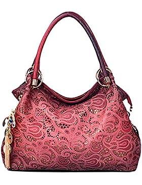 Rovanci Damen Handtasche Umhänge