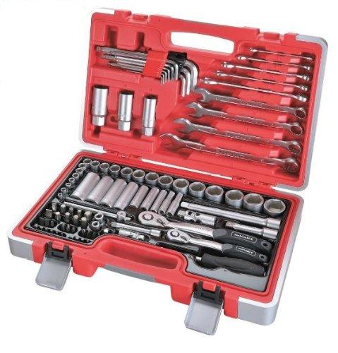 Preisvergleich Produktbild Rothewald® Profi Werkzeug-Satz metrisch, 92-teilig