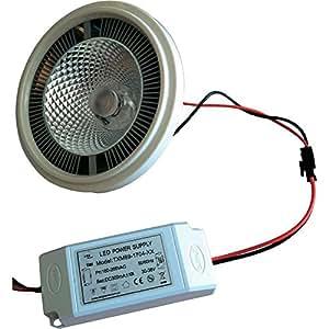 Ampoule LED Lumihome DEC/AR111BC AR111 12 W réflecteur 1 pc(s)