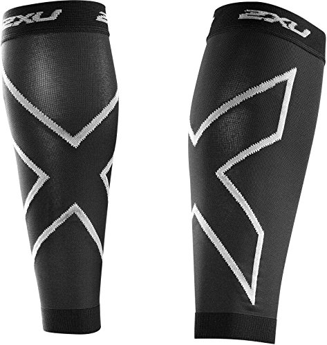 2XU T-shirt Collant Calf Sleeves - AW16 Black/black