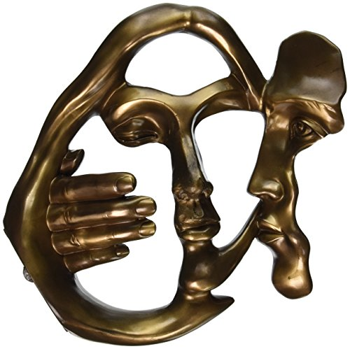 Design Toscano Kuss der Geliebten, Zeitgenössische Statue