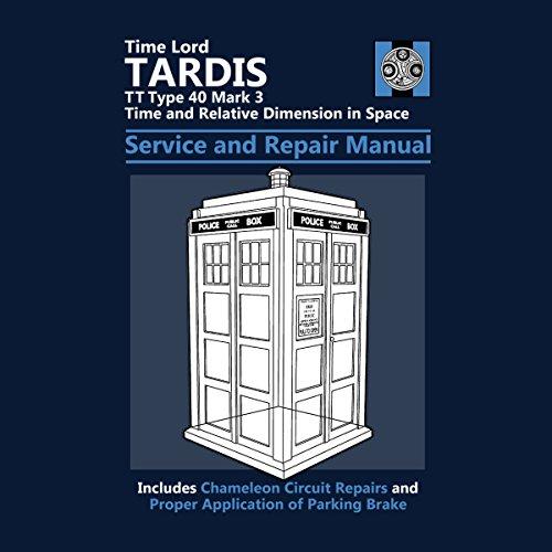 Doctor Who Tardis Service And Repair Manual Women's Sweatshirt Navy blue