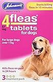 Johnsons 4fleas Protector contra pulgas para perro o cachorro, 3Meses protección contra pulgas