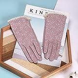 Loe Elegante protezione Sun guanti signore protezione UV estate del cotone, Usare altamente efficiente umidità-assorbente e traspirante in tessuto, di alta qualità in tessuto for proteggere le mani, n