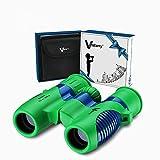 Binocolo per Bambini 8x21 di Vanstarry - Binocolo Compatto Antiurto per Ragazzi e Ragazze con Ottica Reale ad Alta Risoluzione - Ideale per Viaggi, Safari, Avventura, Divertimento All'aria Aperta