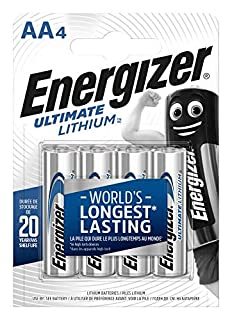 Energizer 639155 - Batterie Ultimate Lithium AA / Mignon / LR6 4er Pack (B000IWW1G6) | Amazon price tracker / tracking, Amazon price history charts, Amazon price watches, Amazon price drop alerts