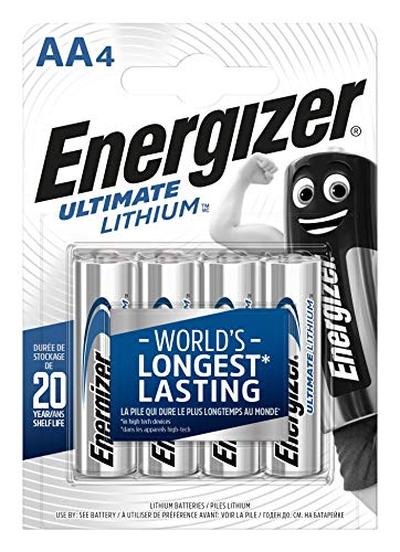Energizer 639155 - Batterie Ultimate Lithium AA / Mignon / LR6 4er Pack
