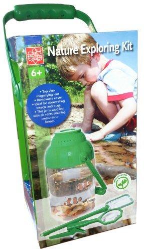 Naturbeobachtung Set Becherlupe mit Werkzeug und Gefäß