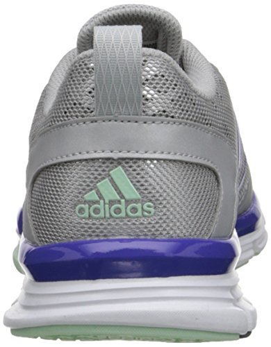 Vitesse Adidas Performance Trainer 2 W Chaussures, Noir / Metallic de carbone / blanc, 5 M Us Silver/Frozen Green