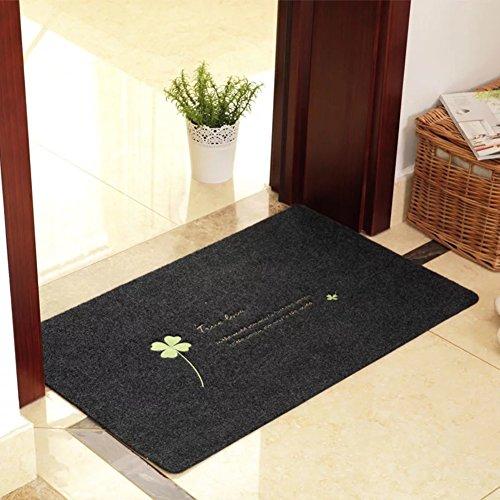 Aik@@ non slip poliestere zerbini,durevole facile da pulire tappeto all'aperto tappetino moderna tappeti tappeto d'ingresso-a 50x80cm(20x31inch)