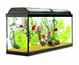 Interpet Aquaverse Glass Aquarium Fish Tank Premium Kit, 110 Litre