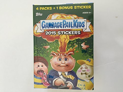 Garbage Pail Kids 2015 Series 1 2015 Garbage Pail Kids Series 1 Trading Card Box 4-Pack by Topps