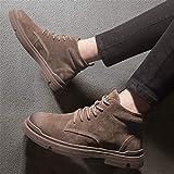 MASAP Martin Stiefel Männlich Herbst und Winter Martin Stiefel Herren high Tactical Tooling Schuhe in den Herren Wolf Desert Boots 42_C0335 Brown