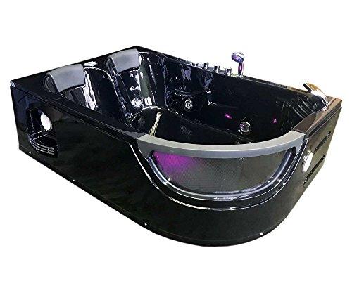 Bañera hidromasaje Modelo PEGASO 180 x 120 cm Para 2 Bañera de...
