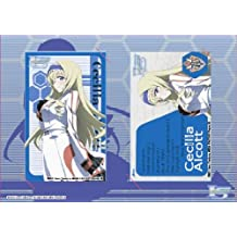 Infinite Stratos IC card sticker set Cecilia Alcott (japan import)
