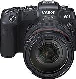 Canon EOS RP Systemkamera (26,2 MP, 7,5 cm (3 Zoll) Clear View LCD II, Digic 8, 4K Video, WLAN, Bluetooth, mit Vollformat-Sensor) Gehäuse Body mit Objektiv RF 24-105mm F4 L IS USM + Adapter EF-EOS R