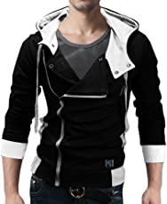 Seven Rocks Men's Cotton Hooded Jacket