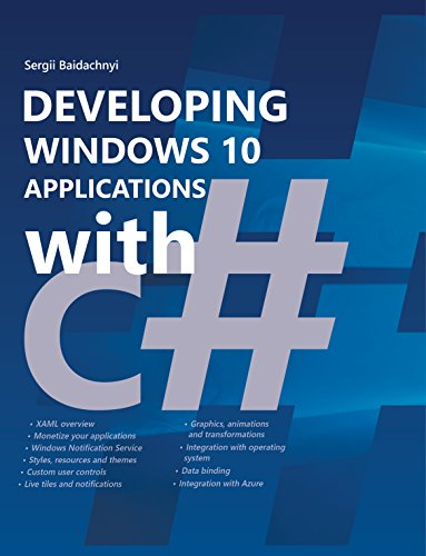 Developing Windows 10 Applications with C# (English Edition) eBook ...