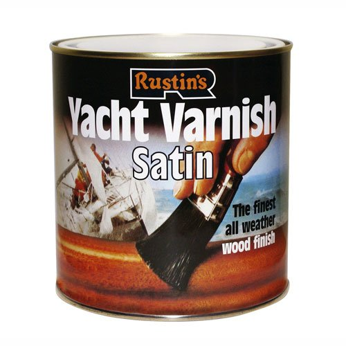 Rustins Yacht Varnish Satin 250ml