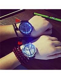 Relojes Hermosos, Ver hombres árbol de la tecla inteligente la vida realmente cinturón sencillo reloj regalos resistente al agua con pantalla táctil ( Color : # 4 )