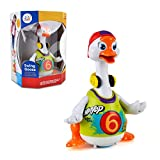 Baby Music Dancing Goose Toy - Wishtime HL828 Goose Play Electronic Pet Toy Baby Activity Toy Walking Swinging Hip-hop Style Toy Toddler Learning to Crawl Toy (Colour May Vary) - Wishtime - amazon.co.uk